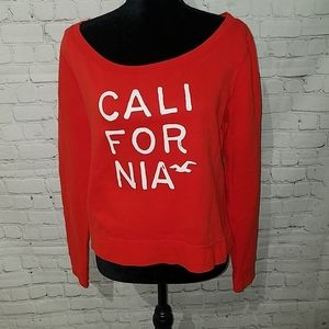 HOLLISTER California M comfy sweatshirt (wore 1x)
